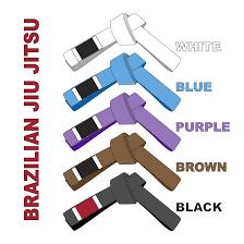 bjj belts system