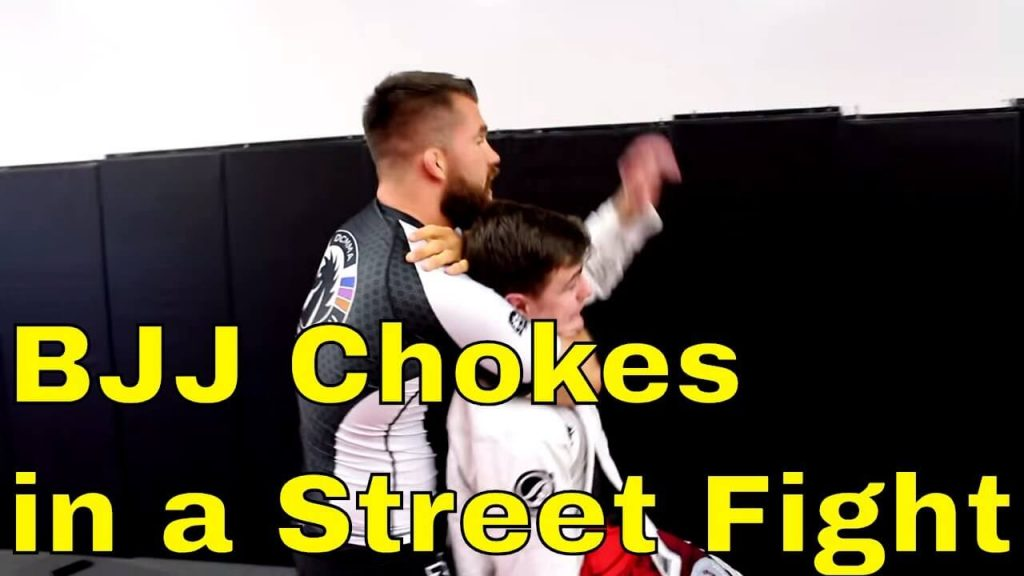 Are BJJ chokes effective in a street fight