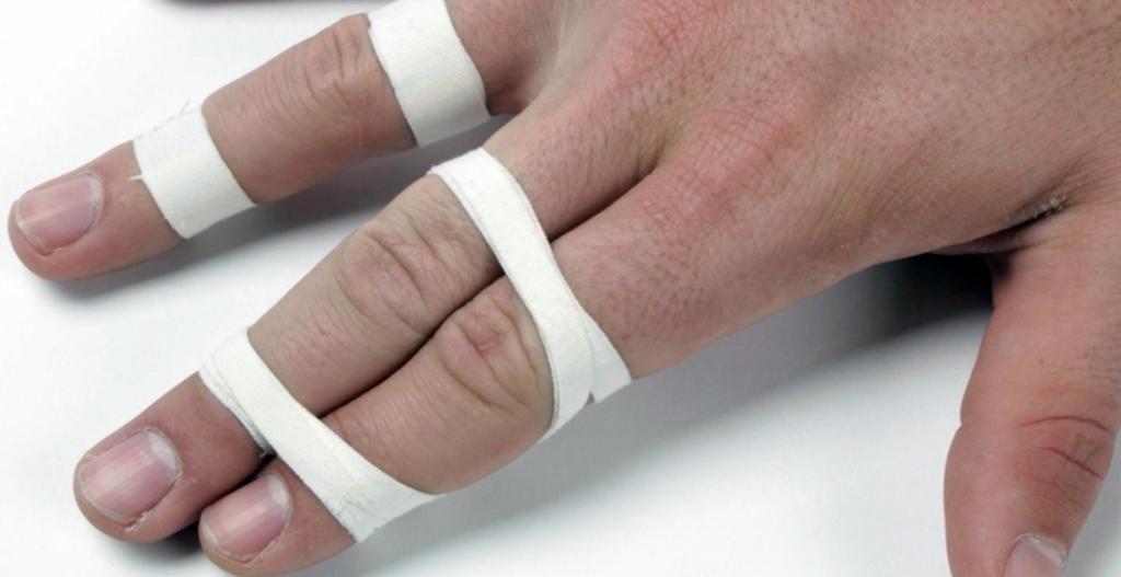 The buddy system BJJ finger tape