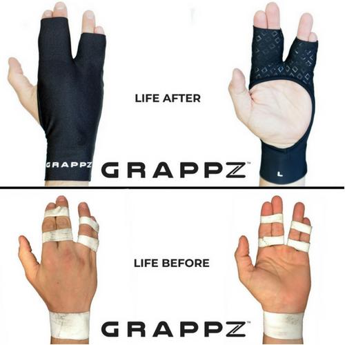 Grappz , Kurt Angle grappling finger gloves