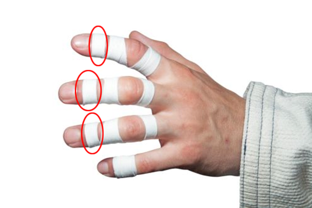 Knuckle finger taping