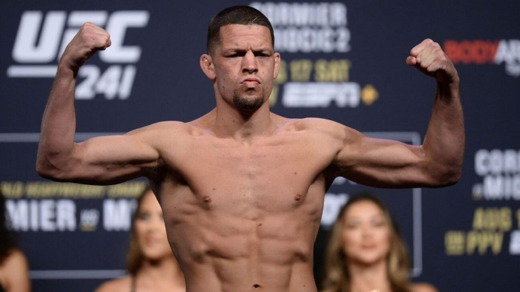Nate Diaz UFC fighters with BJJ