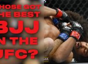 Best BJJ Fighters in the UFC